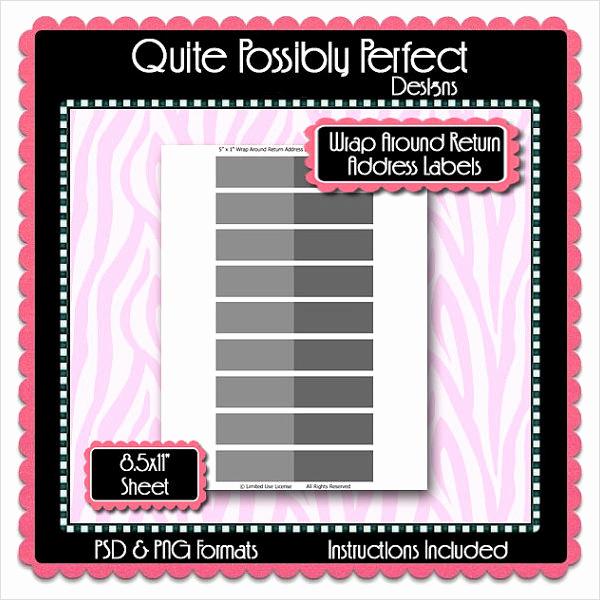 Free Address Labels Samples Elegant Return Address Label Template 8 Free and Premium