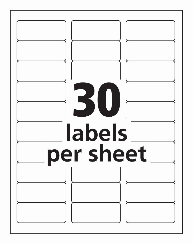 Free Address Labels Samples Elegant Templates 8160 Labels