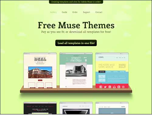 Free Adobe Muse Templates Beautiful Free and Premium Responsive Adobe Muse Templates
