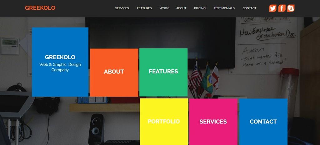 Free Adobe Muse Templates Elegant 30 Best Adobe Muse Templates September 2015 Edition