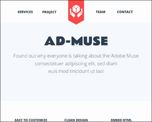 Free Adobe Muse Templates Fresh Free and Premium Responsive Adobe Muse Templates