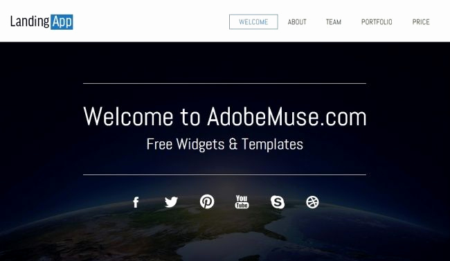 Free Adobe Muse Templates Inspirational 12 Best Images About Adobe Muse On Pinterest