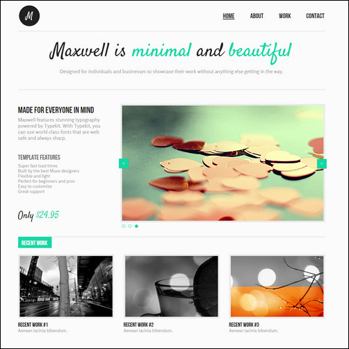 Free Adobe Muse Templates Inspirational 30 Brilliant Premium and Free Adobe Muse Templates for 2017