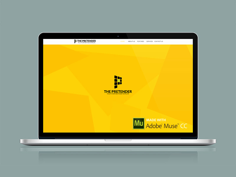 Free Adobe Muse Templates New 25 Free Muse Templates – Creative Website themes and
