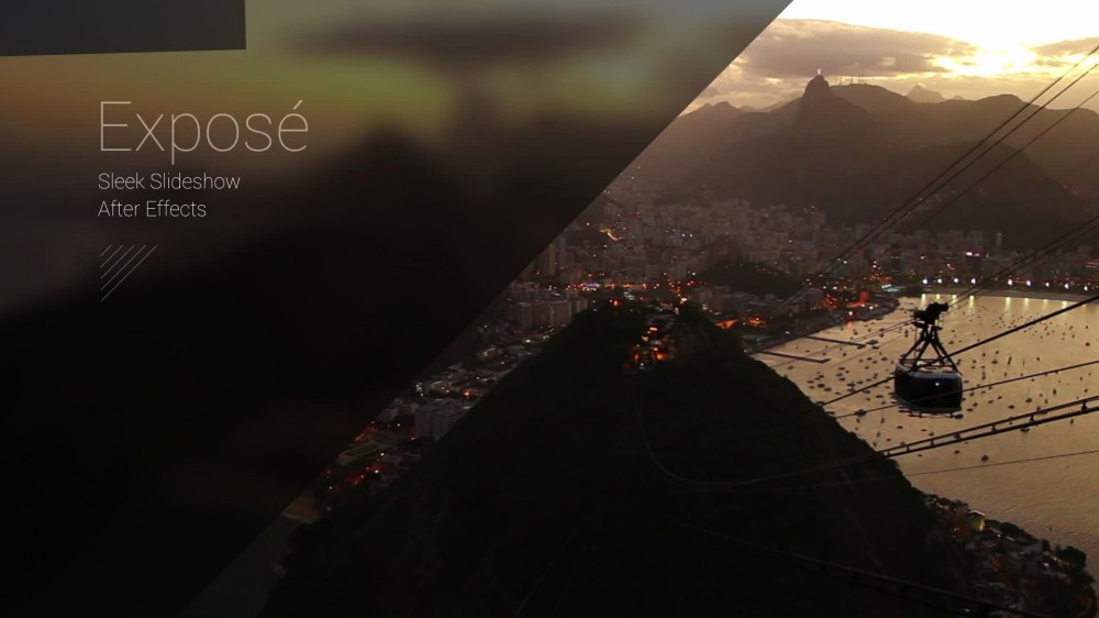 Free after Effects Slideshow Templates Best Of Exposé Modern Slideshow after Effects Template