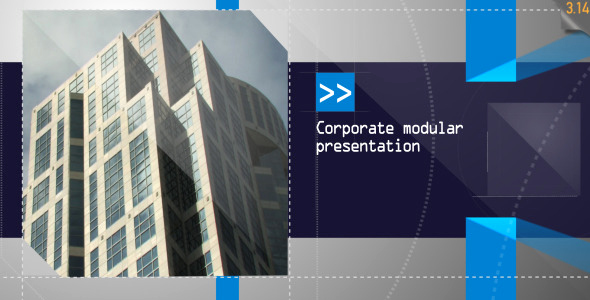 Free after Effects Slideshow Templates Fresh Corporate Modular Presentation by Steve314