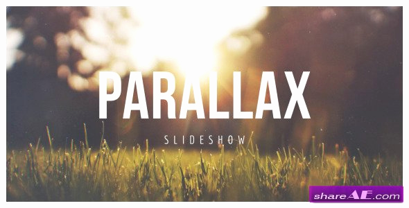 Free after Effects Slideshow Templates Luxury Parallax Scrolling Slideshow after Effects Project
