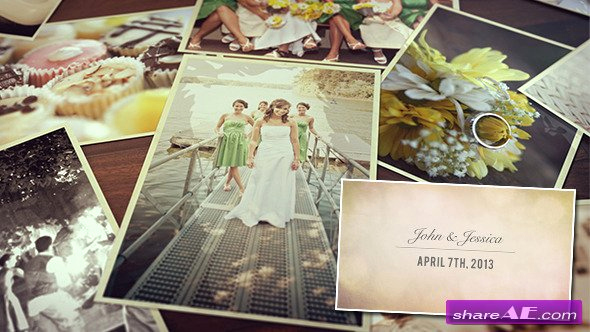 Free after Effects Slideshow Templates Luxury Wedding S Slideshow after Effects Project