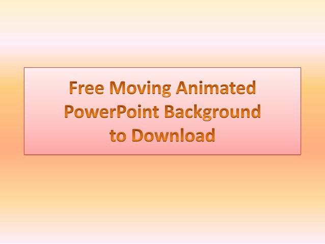 Free Animated Powerpoint Templates Elegant Free Powerpoint Templates and Animated Background to Download