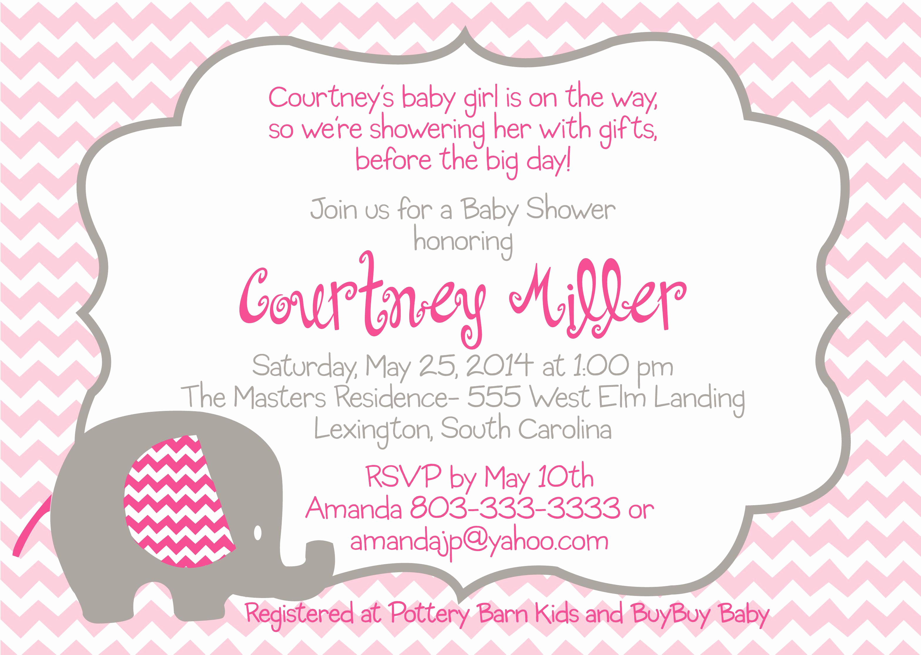 Free Baby Shower Templates Awesome Baby Shower Invitation Free Baby Shower Invitation