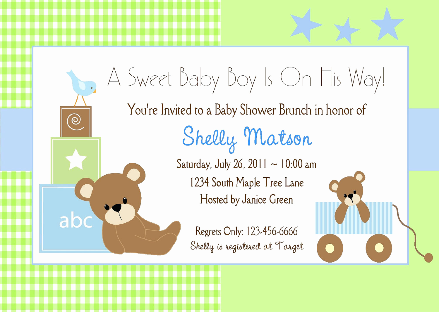 Free Baby Shower Templates Beautiful Free Baby Boy Shower Invitations Templates Baby Boy