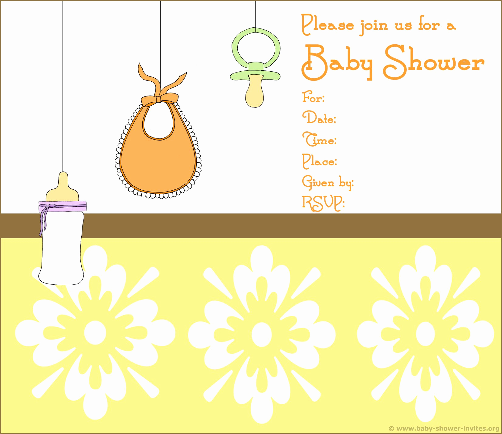 Free Baby Shower Templates New Baby Shower Invitation Free Baby Shower Invitation