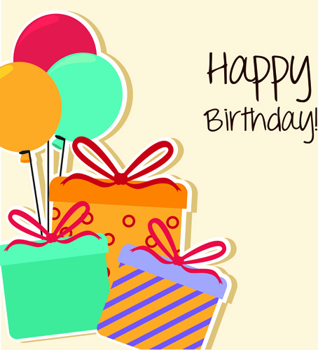 Free Birthday Card Templates Awesome Happy Birthday Editable Card Free Vector 15 733