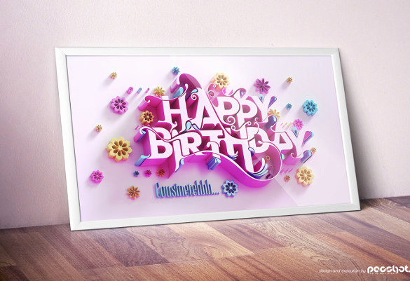 Free Birthday Card Templates Elegant 21 Birthday Card Templates – Free Sample Example format
