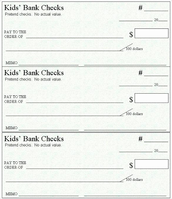 Free Blank Check Template Pdf Beautiful Blank Check Template – 30 Free Word Psd Pdf & Vector