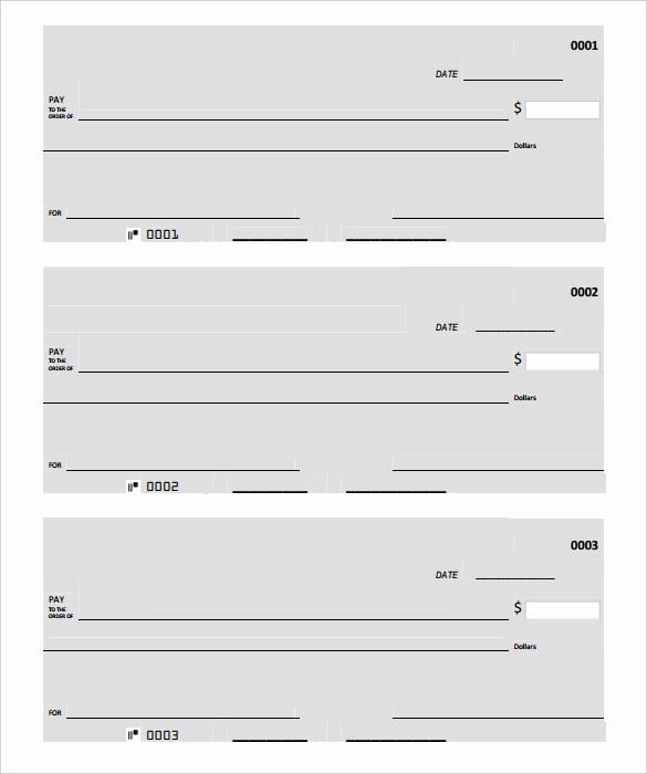 Free Blank Check Template Pdf Fresh Blank Check Template – 30 Free Word Psd Pdf & Vector