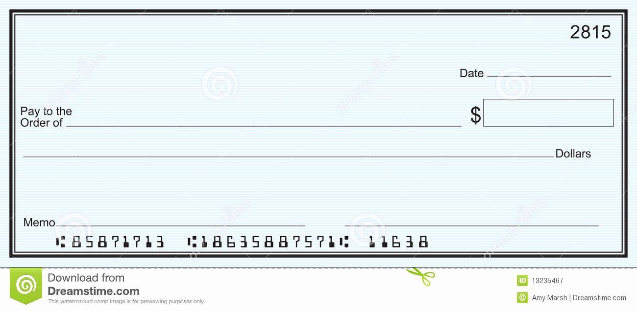 Free Blank Check Template Pdf Lovely Free Printable Checks Template Template