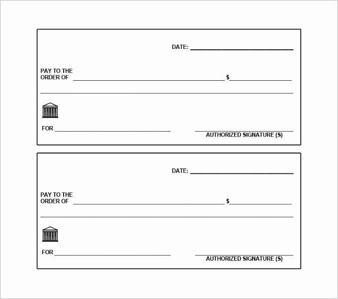 Free Blank Check Template Pdf Luxury Blank Check Template – 30 Free Word Psd Pdf & Vector