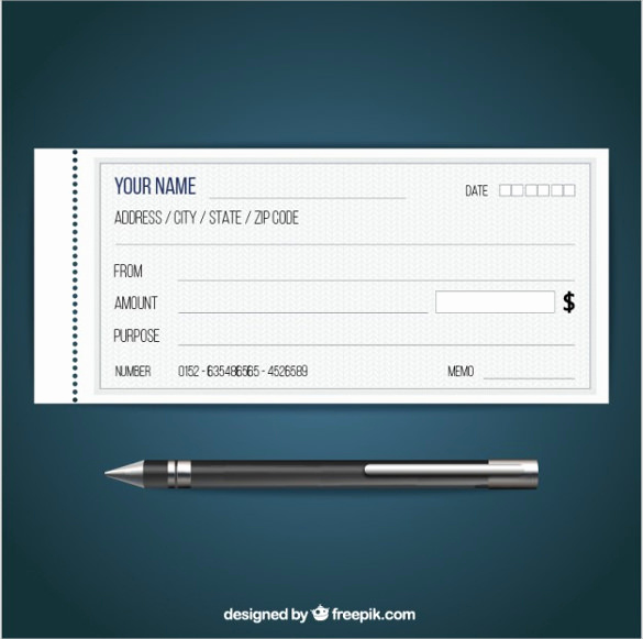 Free Blank Check Template Pdf Unique Blank Check Template – 30 Free Word Psd Pdf & Vector