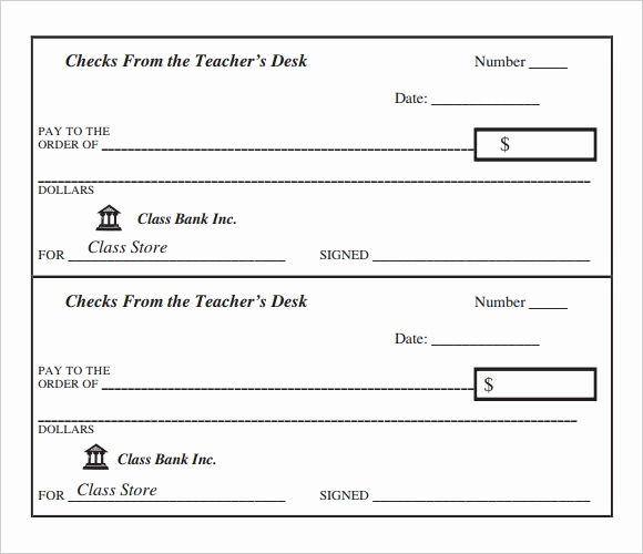 Free Blank Check Template Pdf Unique Sample Blank Cheque 5 Documents In Pdf Psd