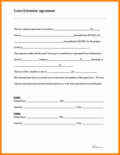 Free Blank Lease Agreement New Blank Lease Agreement
