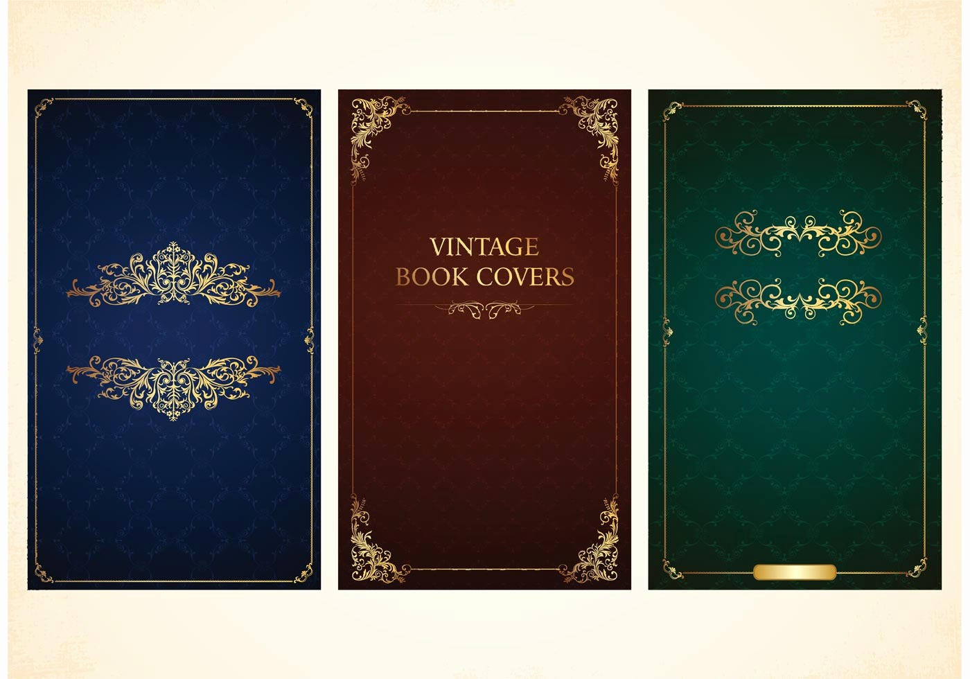 Free Book Cover Design Awesome Free Vector Old Book Covers Download Free Vector Art