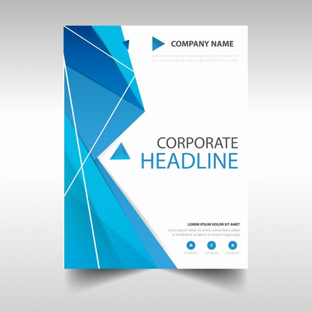 Free Book Cover Design Beautiful Polygonal Annual Report Book Cover Template Vector