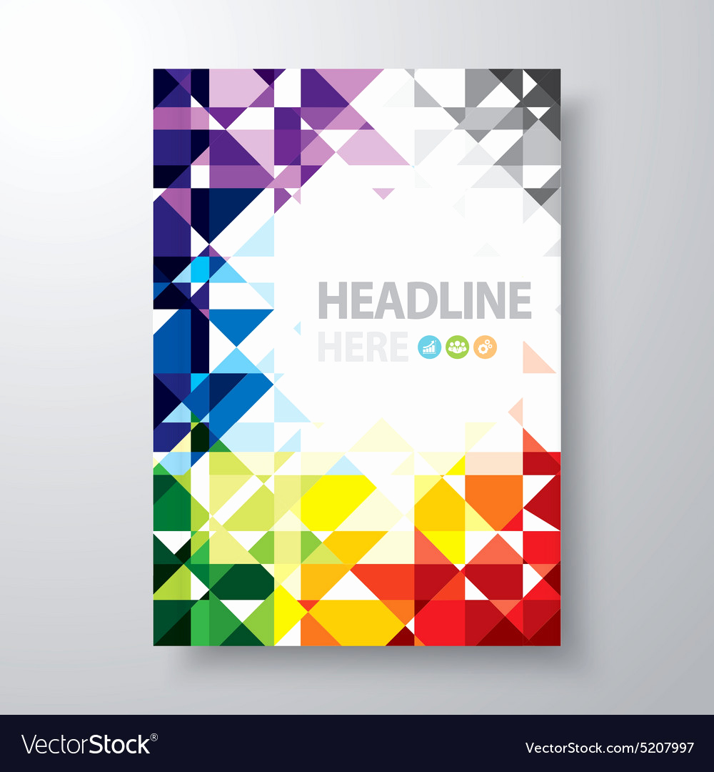Free Book Cover Design Elegant Abstract Book Cover Royalty Free Vector Image Vectorstock
