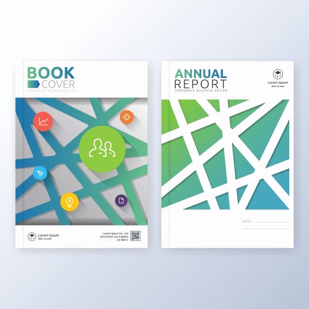 Free Book Cover Design Inspirational Book Cover Template Design Vector