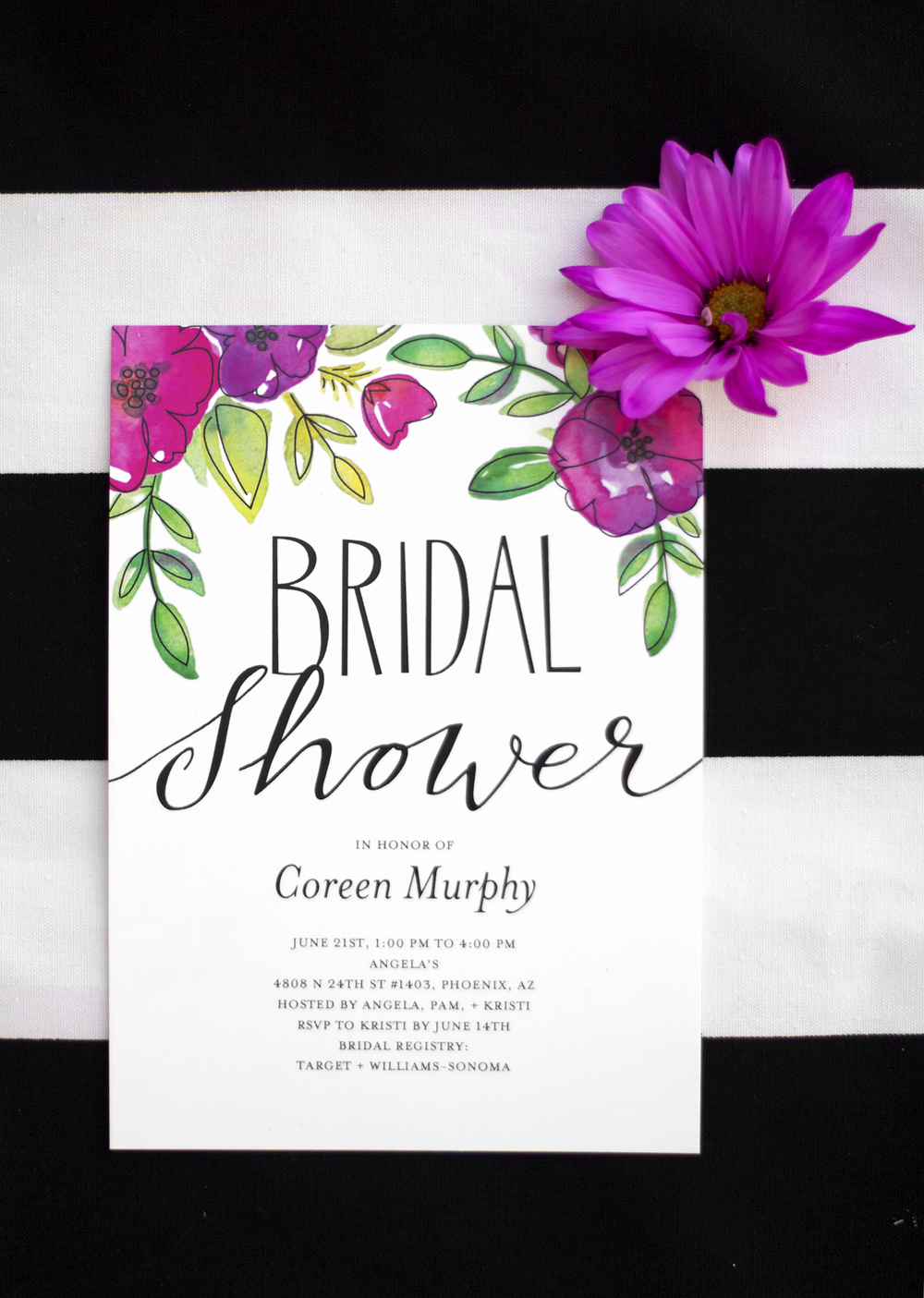 Free Bridal Shower Invitations Inspirational Garden Party Bridal Shower — Kristi Murphy