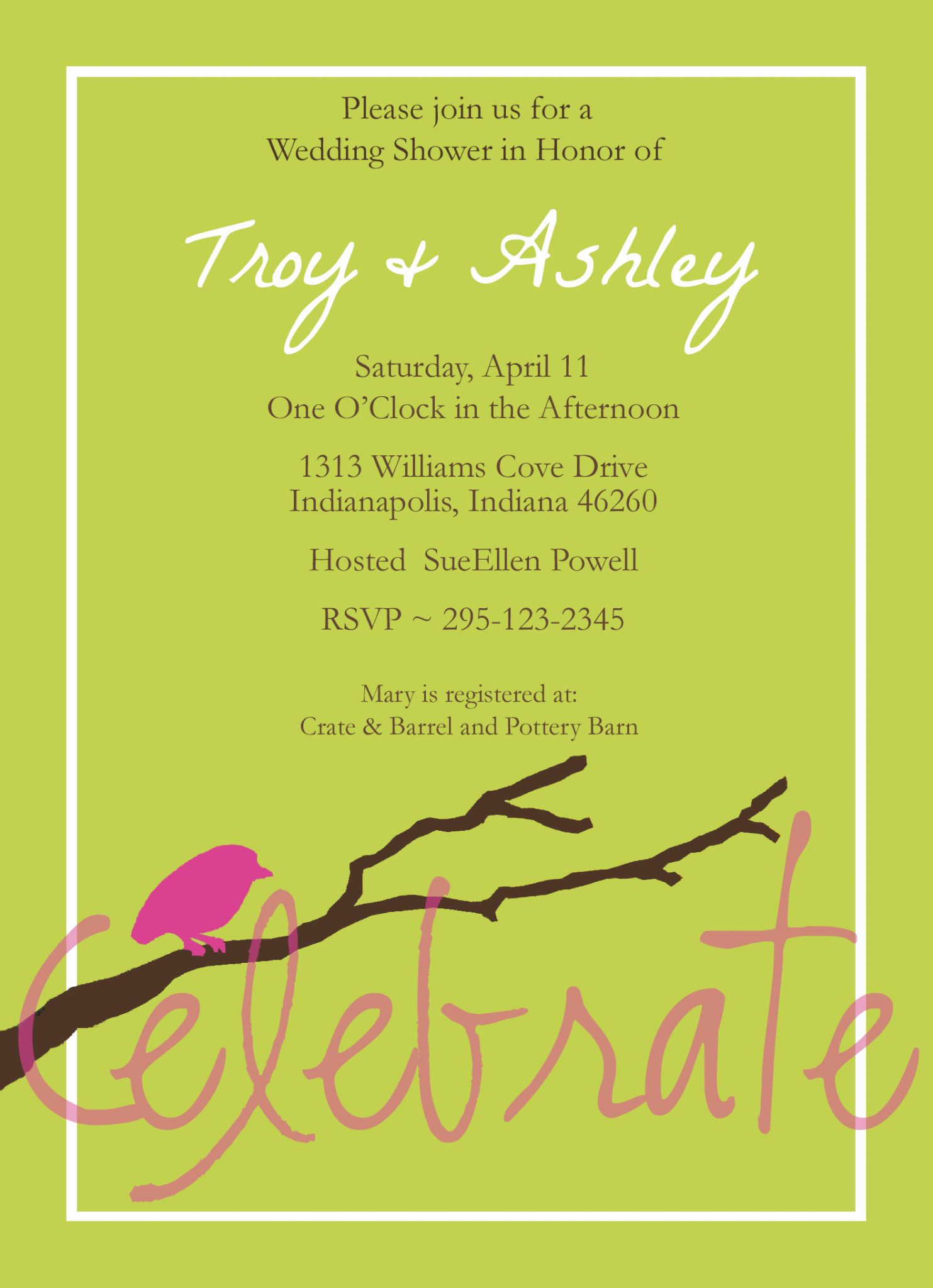 Free Bridal Shower Invitations Unique Free Customizable Bridal Shower Invitations
