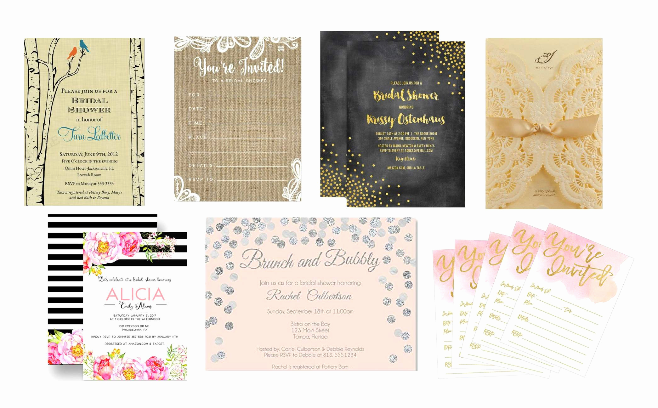 Free Bridal Shower Invitations Unique top 10 Best Bridal Shower Invitations
