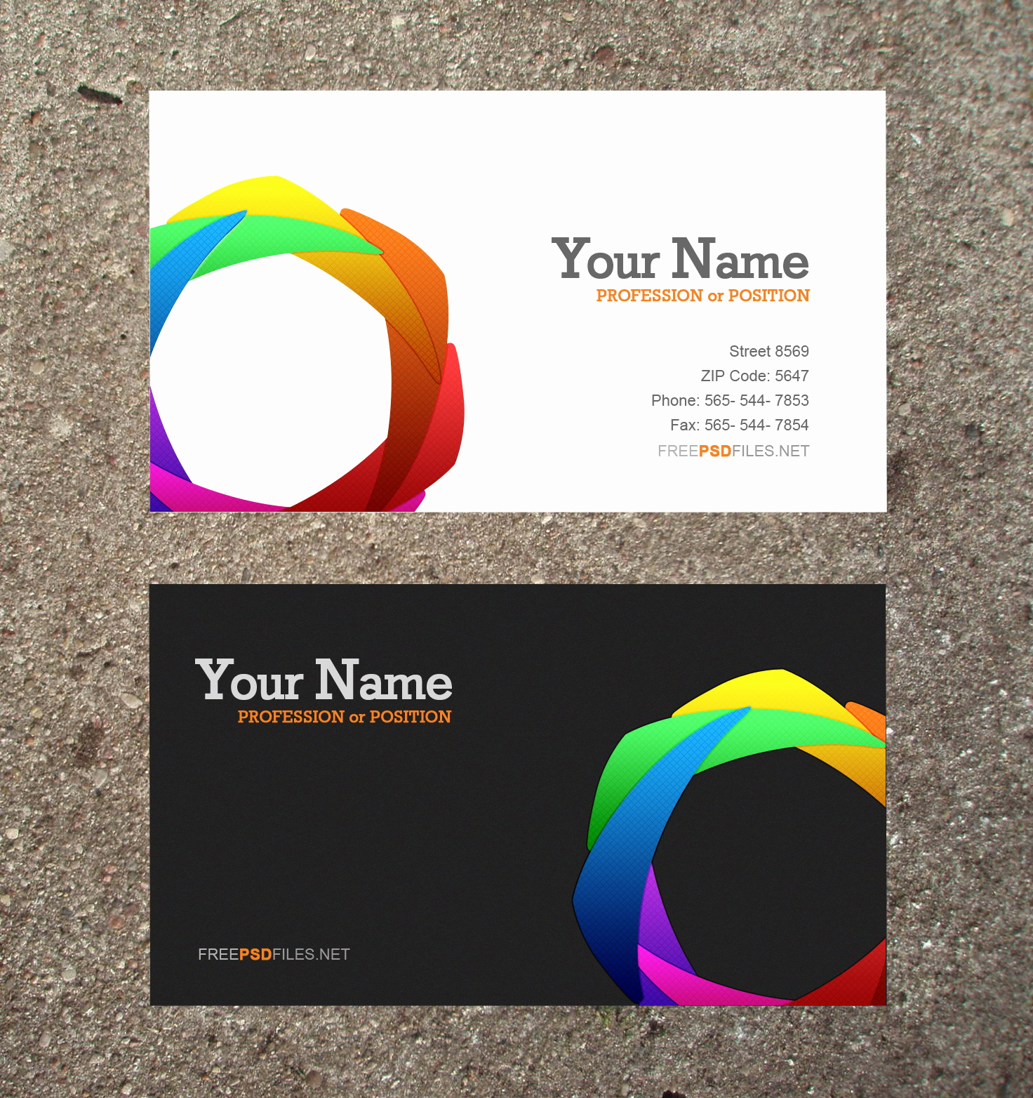 Free Business Card Template Word Beautiful 10 Modern Business Card Psd Template Free Free