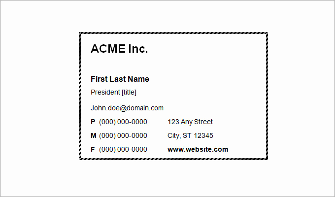 Free Business Card Template Word Beautiful 44 Free Blank Business Card Templates Ai Word Psd