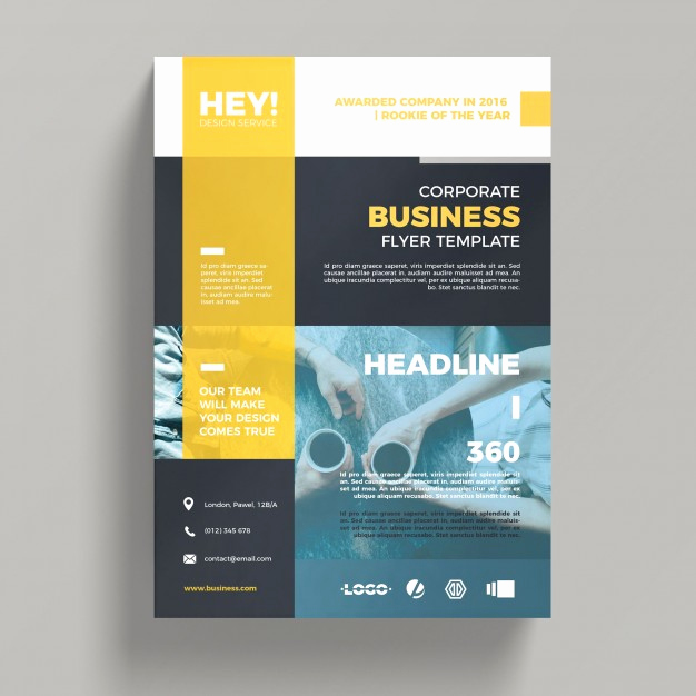 Free Business Flyer Templates Beautiful Creative Corporate Business Flyer Template Psd File