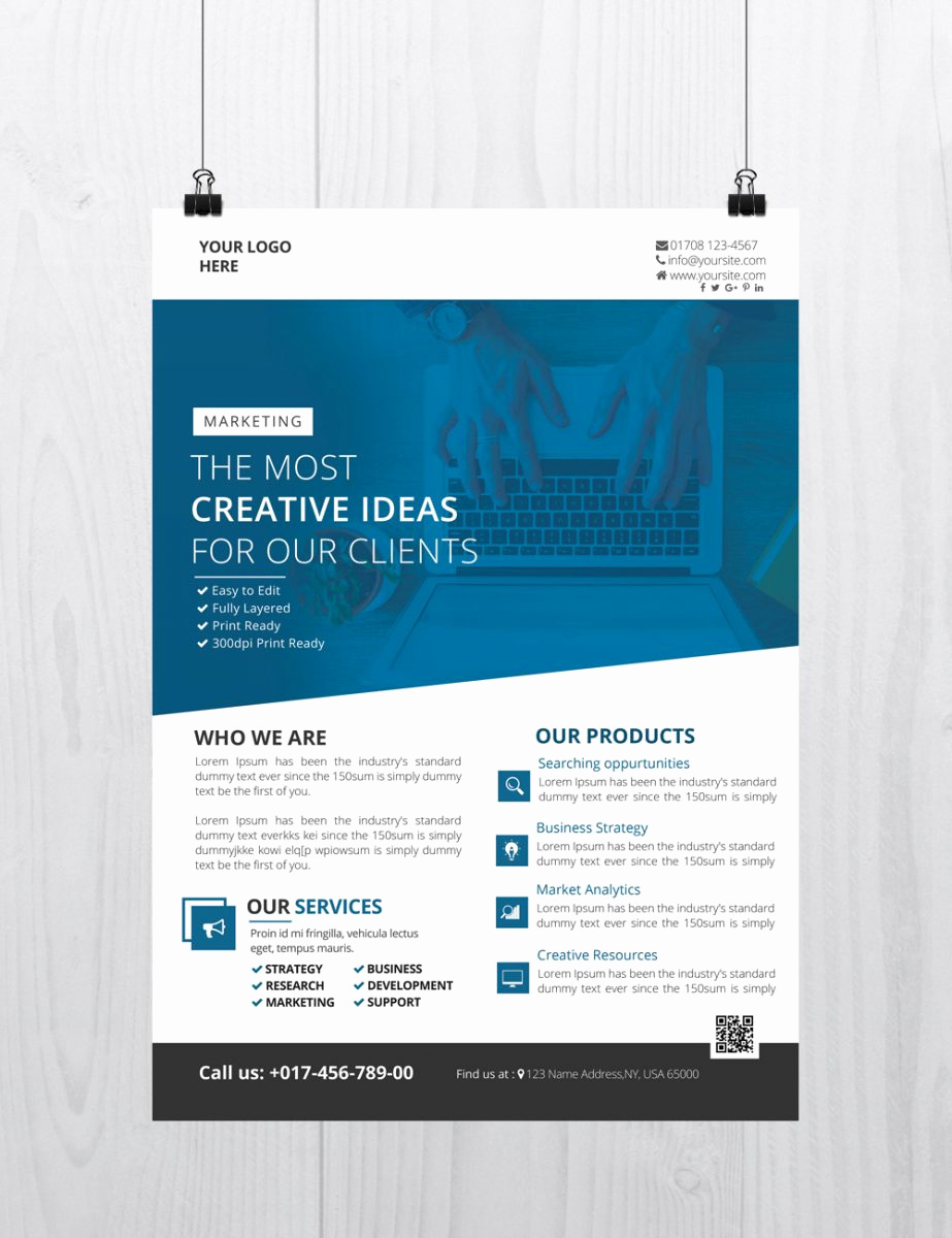 Free Business Flyer Templates Inspirational 25 Free Business Flyer Templates for Shop Mashtrelo