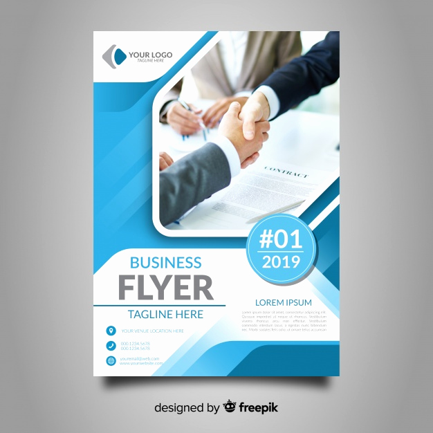 Free Business Flyer Templates Lovely Business Flyer Template Vector