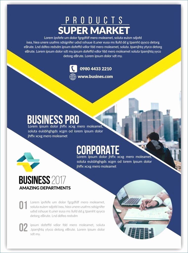 Free Business Flyer Templates Lovely Free Business Flyer Templates for Microsoft Word – Free