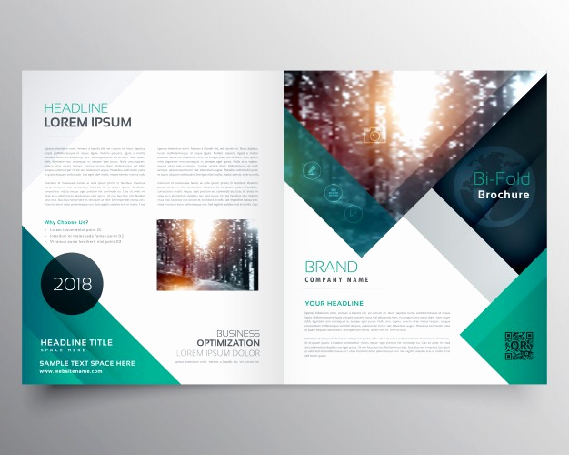 Free Business Flyer Templates Unique Green Business Brochure Template Vector