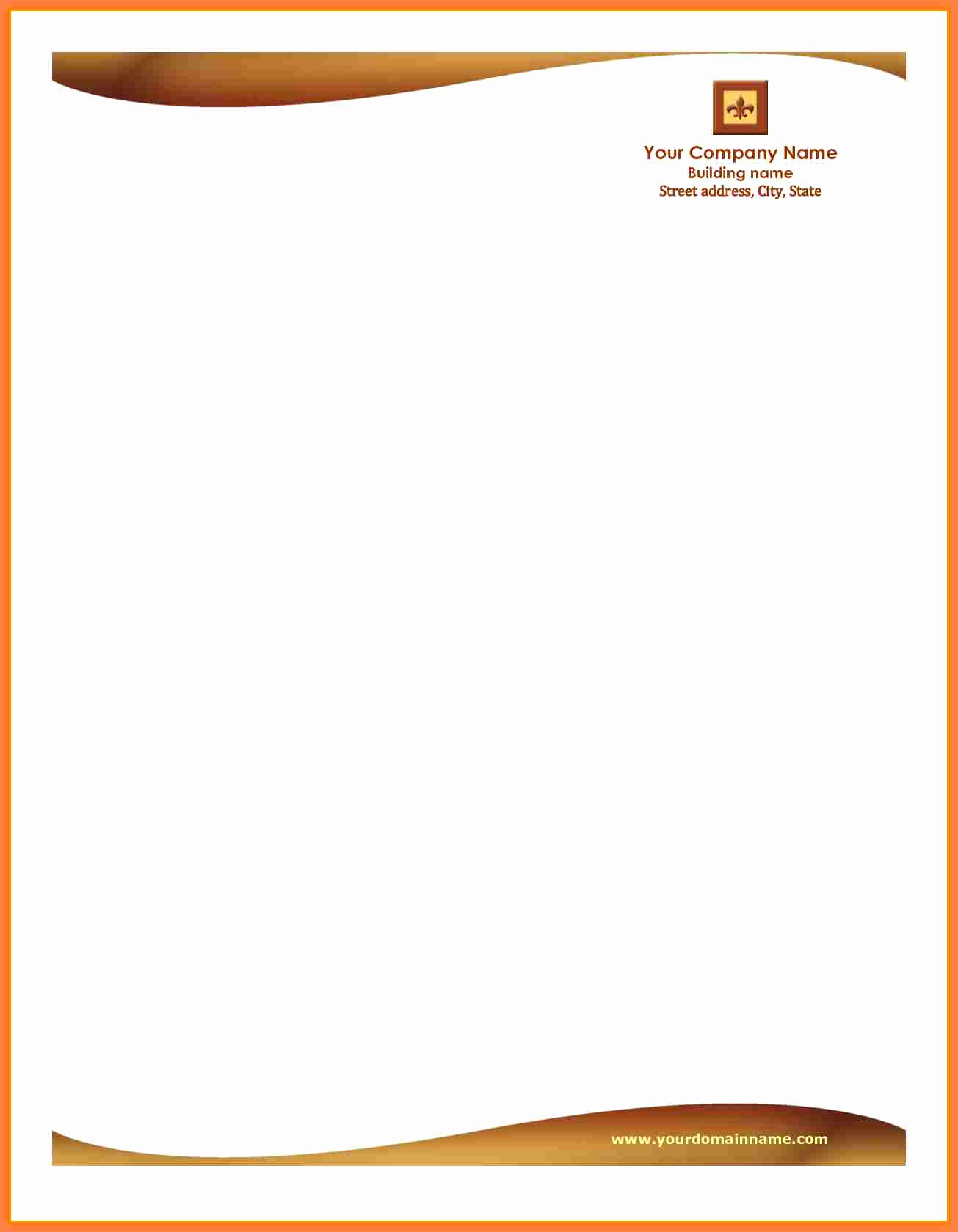 Free Business Letterhead Templates Awesome 5 Letterhead Templates