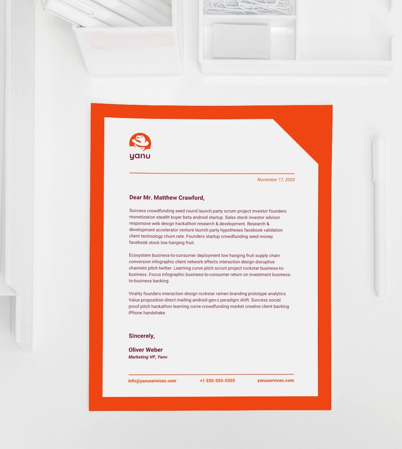Free Business Letterhead Templates Best Of 15 Professional Business Letterhead Templates and Design