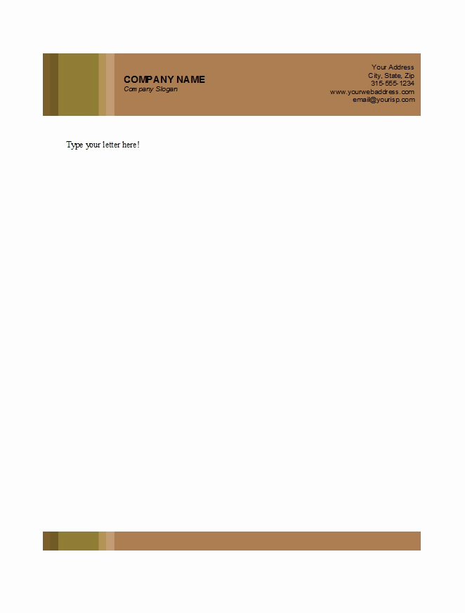 Free Business Letterhead Templates Lovely 46 Free Letterhead Templates & Examples Free Template