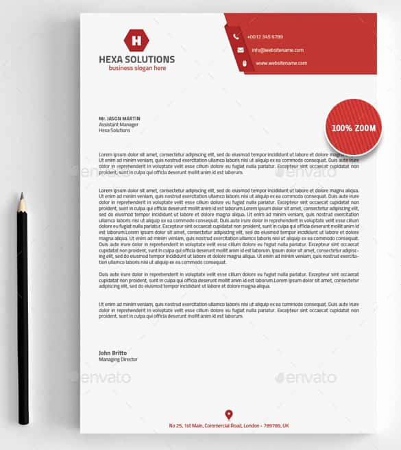 Free Business Letterhead Templates Luxury 31 Word Letterhead Templates Free Samples Examples