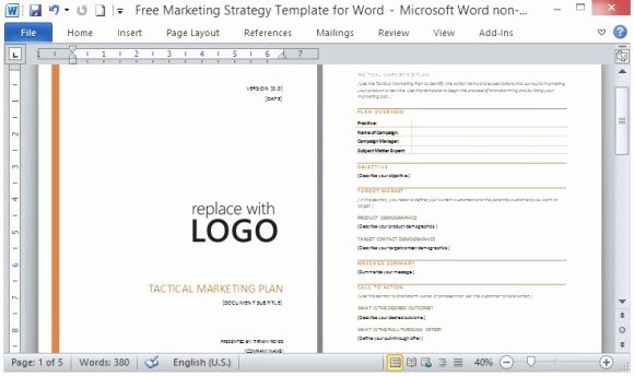 Free Business Plan Template Word Luxury Business Plan Template Word