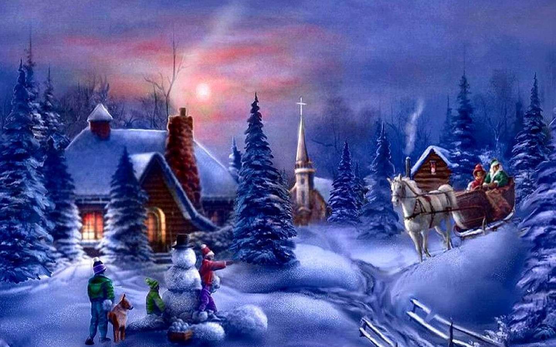 christmas wallpapers animated christmas