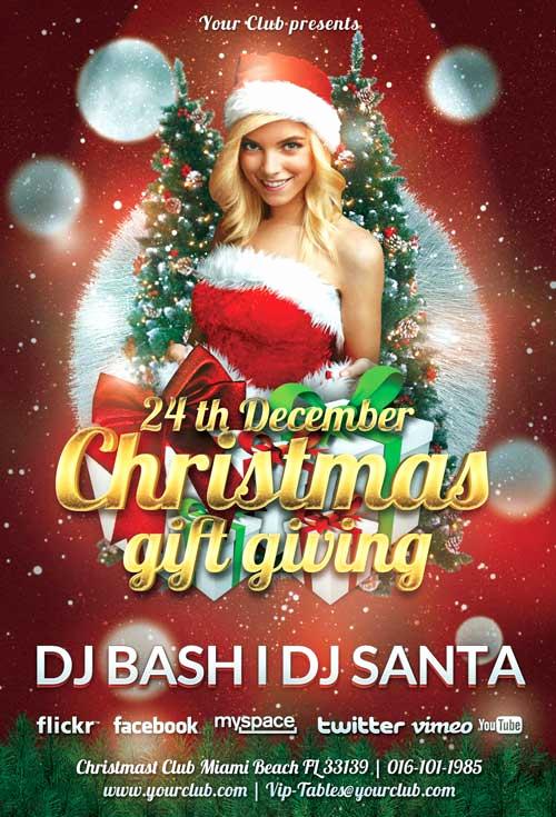 Free Christmas Flyer Templates Beautiful Download Free Christmas Flyer Psd Templates for Shop