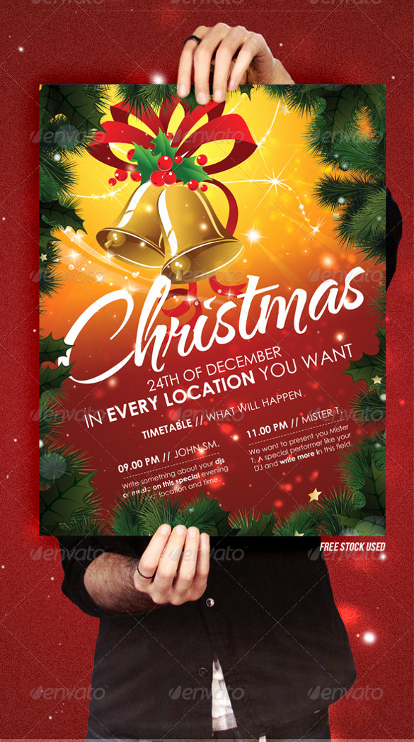 Free Christmas Flyer Templates Best Of 32 Christmas Invitation Templates Psd Ai Word