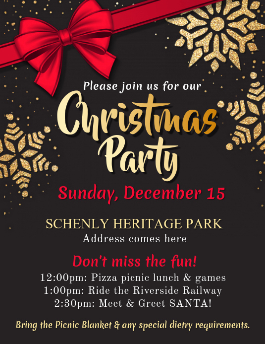 Free Christmas Flyer Templates Best Of Christmas Party Flyer Template