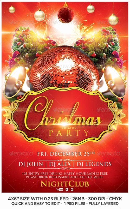 Free Christmas Flyer Templates Elegant Mark Design – Page 4 – Create Beautiful Designs with Your