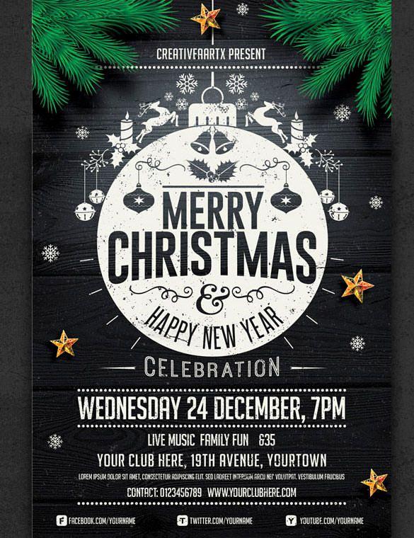Free Christmas Flyer Templates Fresh 57 Christmas Flyer Templates – Free Psd Ai Illustrator
